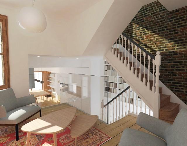 Peter Morris Architects HIGHBURY HOUSE 1a
