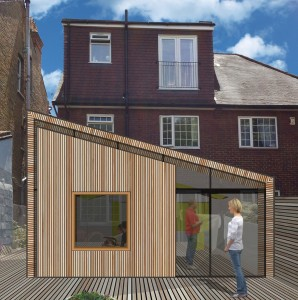 peter morris architects_TWISTED HOUSE_rear view