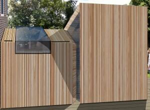 peter morris architects_TWISTED HOUSE_side view