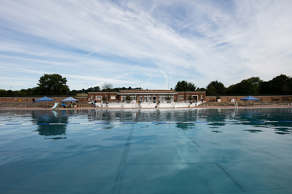 Peter Morris Architects - Parliament Hill Lido - pool front