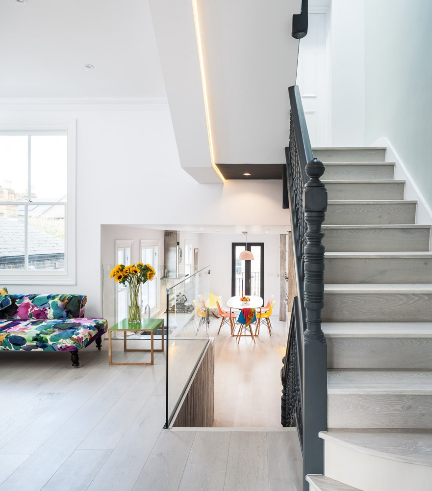 Julia Tyler, Meglund Road N5, photographed for ES Homes & Property