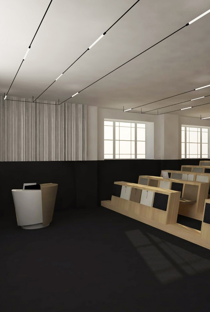 peter morris architects LECTURE ROOM 006