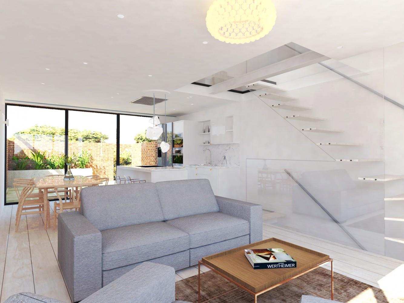 Peter Morris Architects - 58 Kensington Place - GROUND 1